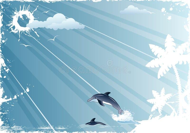 Marco del verano libre illustration