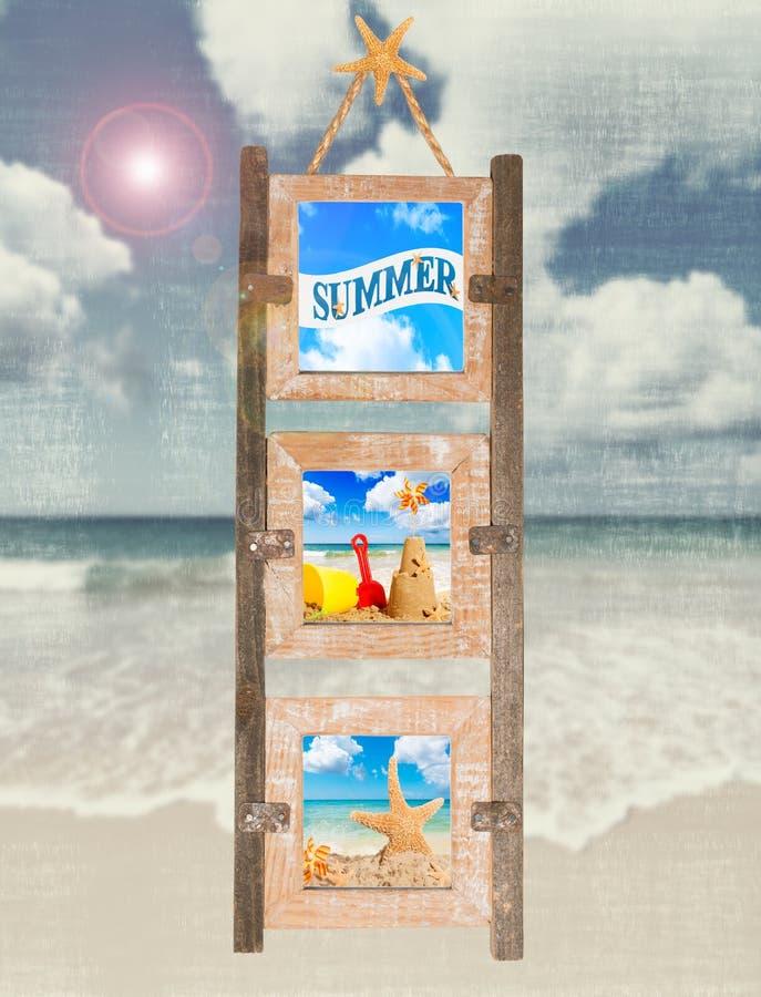 Marco del verano imagen de archivo