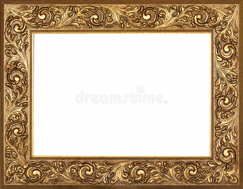 Marco dorado imagen de archivo. Imagen de ornamento, antigüedad ...