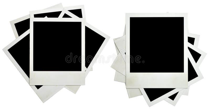 Marco en blanco de la foto del grunge fotos de archivo libres de regalías