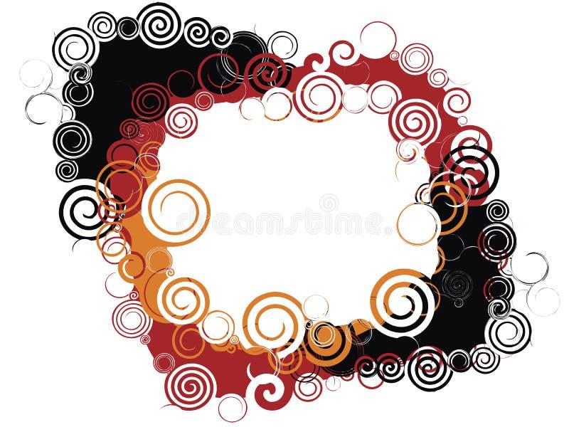 Marco espiral libre illustration