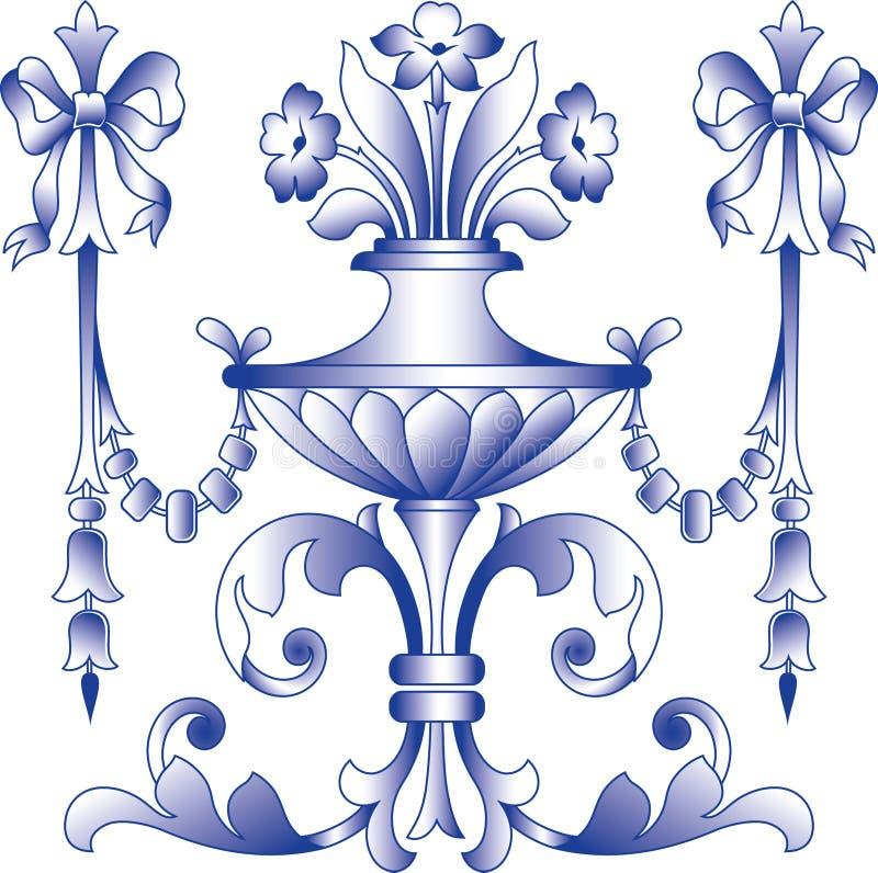Marco-flor imagenes de archivo