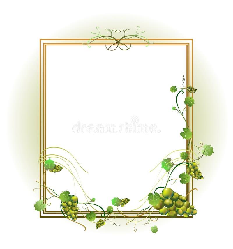 Marco floral libre illustration