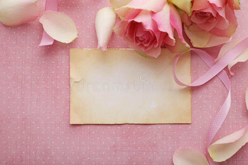 Marco floral foto de archivo