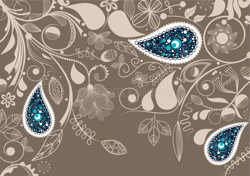 Marco floral del vector libre illustration