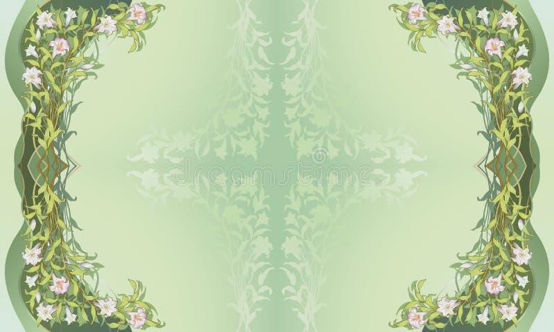 Marco floral ornamental II libre illustration