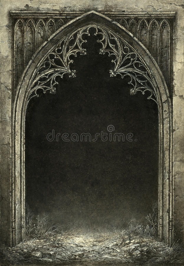 Marco gótico libre illustration