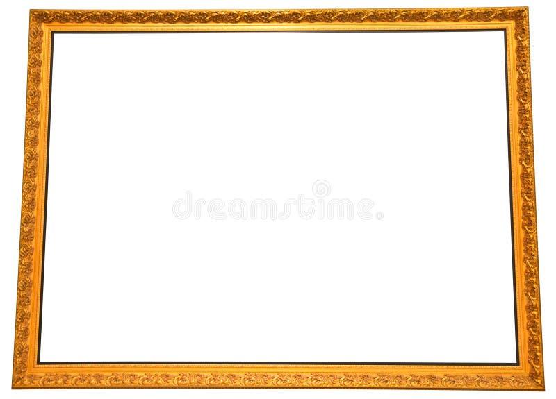 Download Marco Grande Aislado De La Pintura Del Oro Imagen de archivo - Imagen de espacio, frontera: 41901439