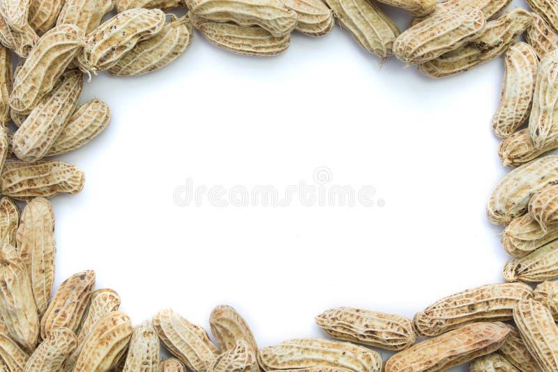 Marco hervido de los cacahuetes imágenes de archivo libres de regalías