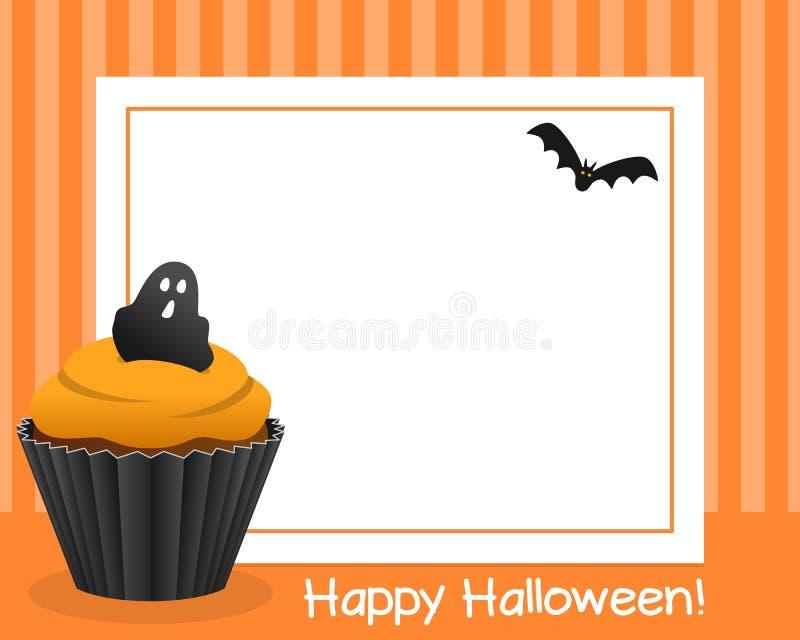 Marco horizontal de la magdalena de Halloween [3] libre illustration
