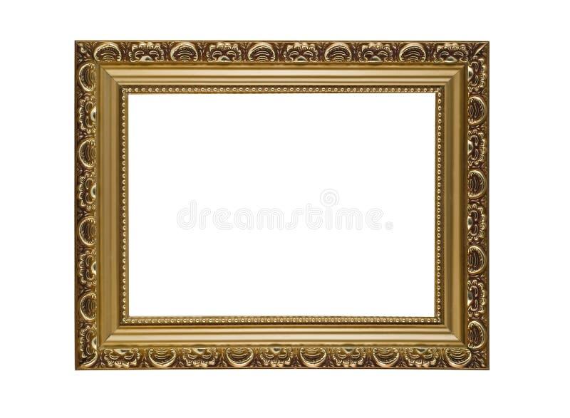 Marco horizontal vacío para el cuadro o el retrato fotografía de archivo libre de regalías