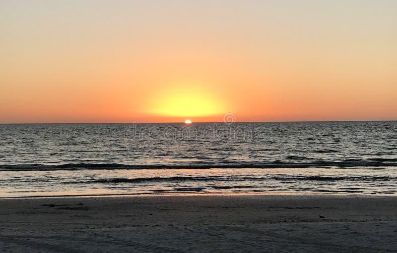 Marco Island Sunset stockfoto