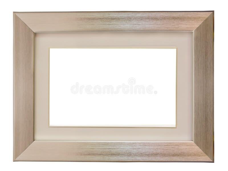 Marco metálico de aluminio imagen de archivo libre de regalías