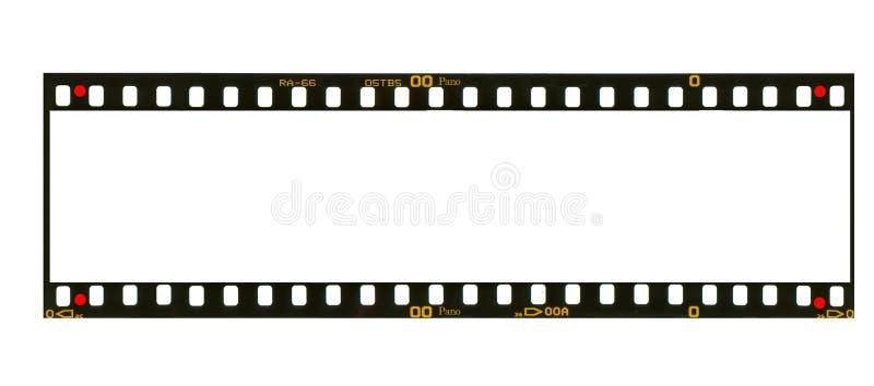 Marco negativo del formato panorámico estupendo fotos de archivo libres de regalías