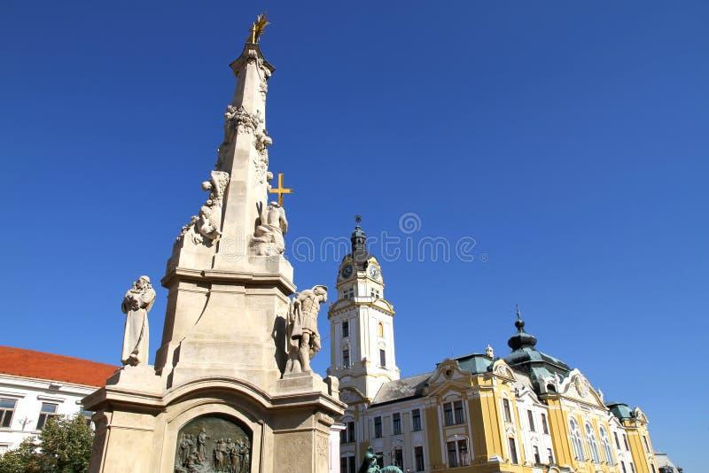 Marco nos CPE, Hungria imagem de stock royalty free