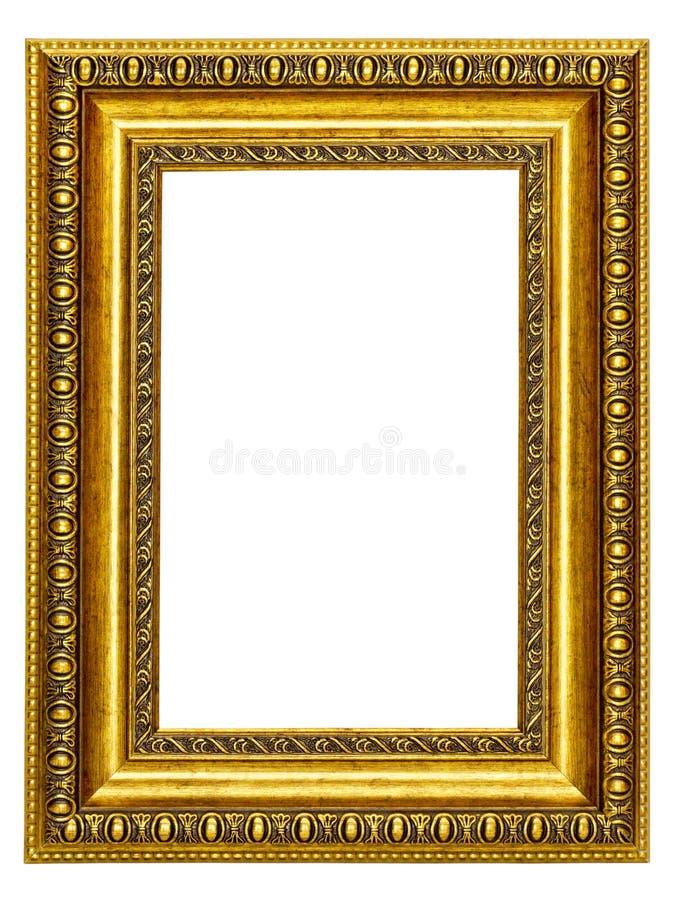 Marco oro modelado para un cuadro imagen de archivo - Marcos para fotos economicos ...