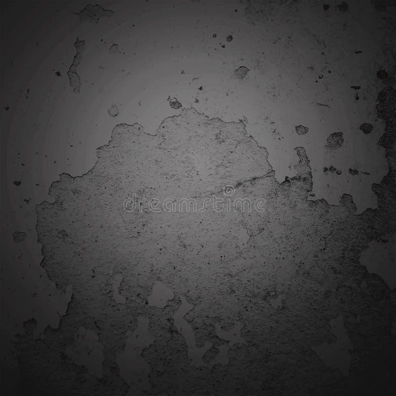 Marco oscuro de la frontera de la ilustración del fondo del extracto con el fondo gris de la textura Estilo del fondo del grunge  fotografía de archivo