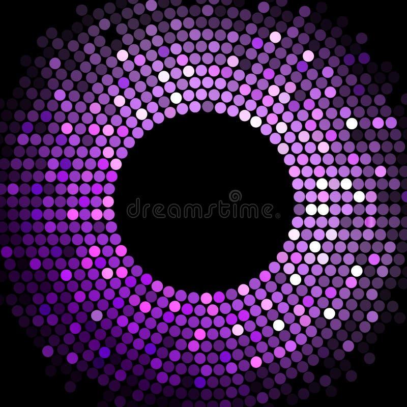 Marco púrpura ilustración del vector