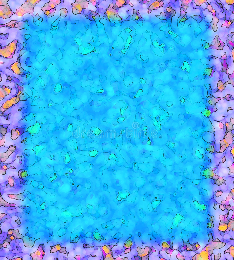 Marco púrpura vivo stock de ilustración