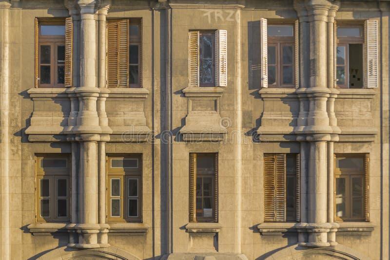 Marco Palacio Salvo Palace de Montevideo imagem de stock royalty free