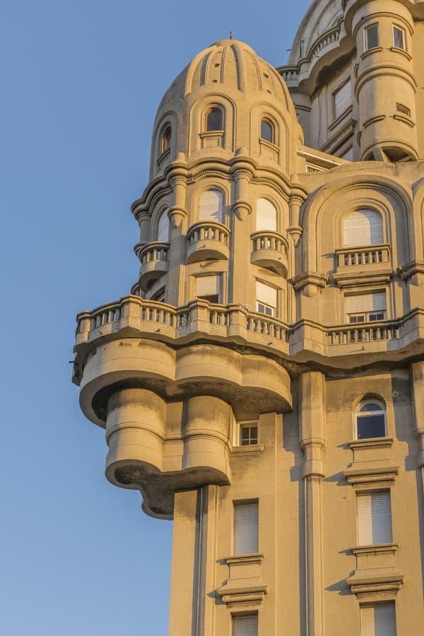 Marco Palacio Salvo Palace de Montevideo foto de stock royalty free