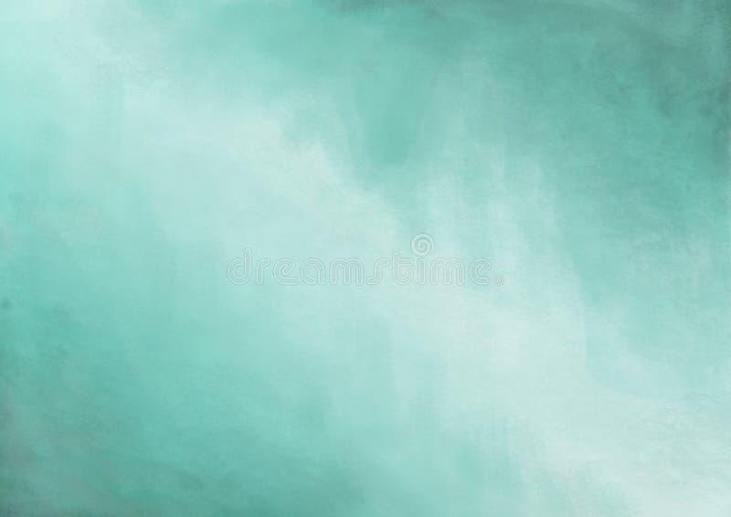 Marco pintado extracto del fondo de Seafoam ilustración del vector