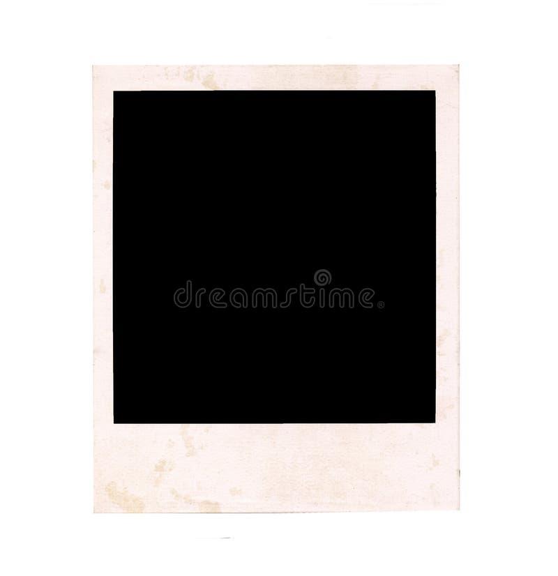 Marco polaroid fotos de archivo libres de regalías