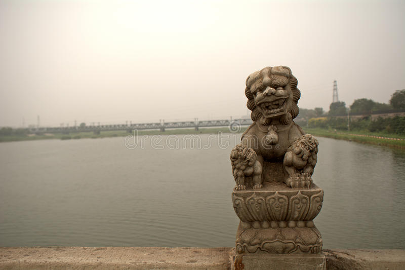 Marco Polo Bridge, Wanping, China royalty-vrije stock fotografie