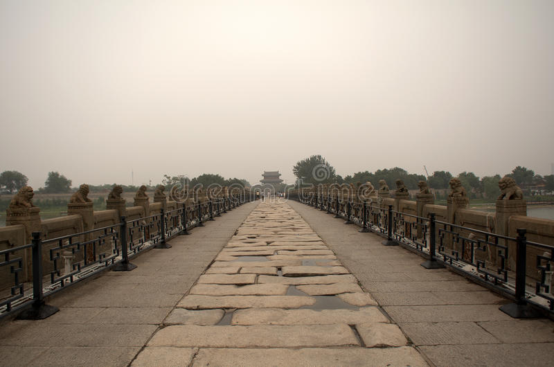 Marco Polo Bridge, Wanping, Chine photographie stock