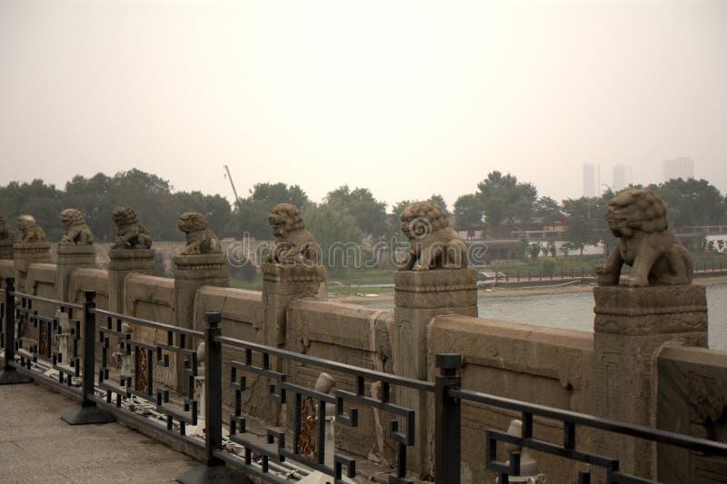 Marco Polo Bridge, Wanping, Chine photographie stock libre de droits