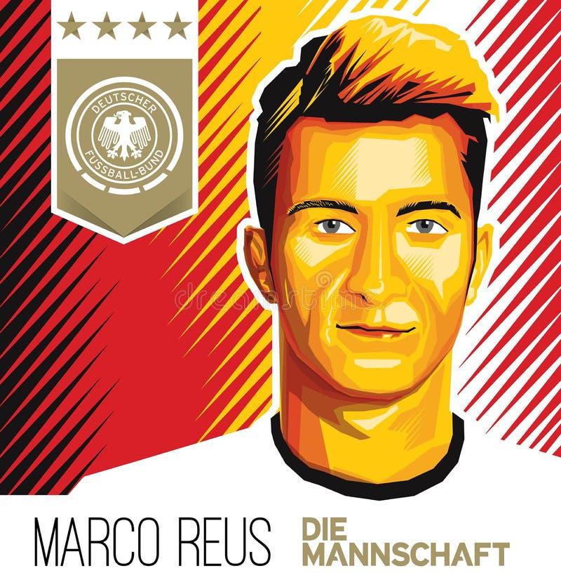 Marco Reus German Football Star stockfoto