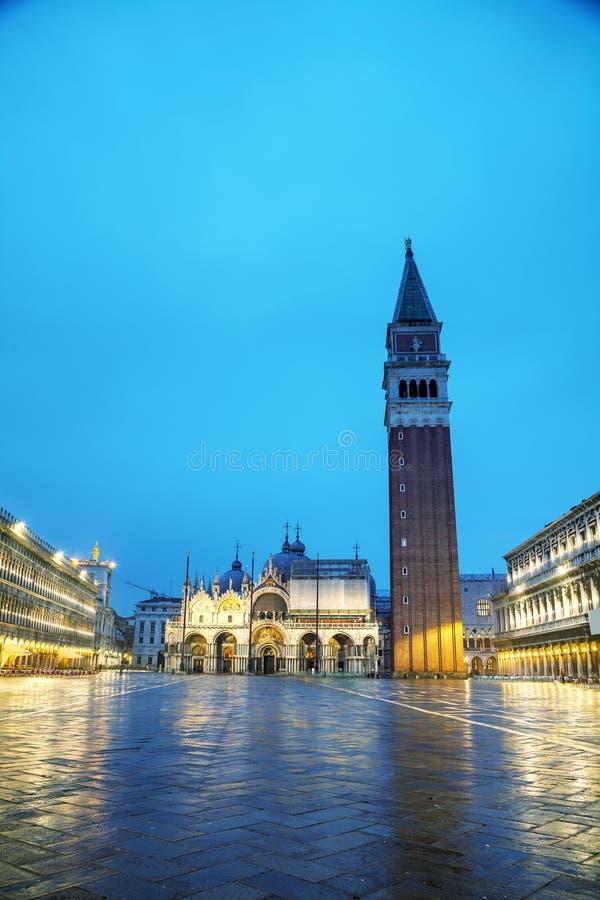 marco SAN τετραγωνική Βενετία στοκ φωτογραφία