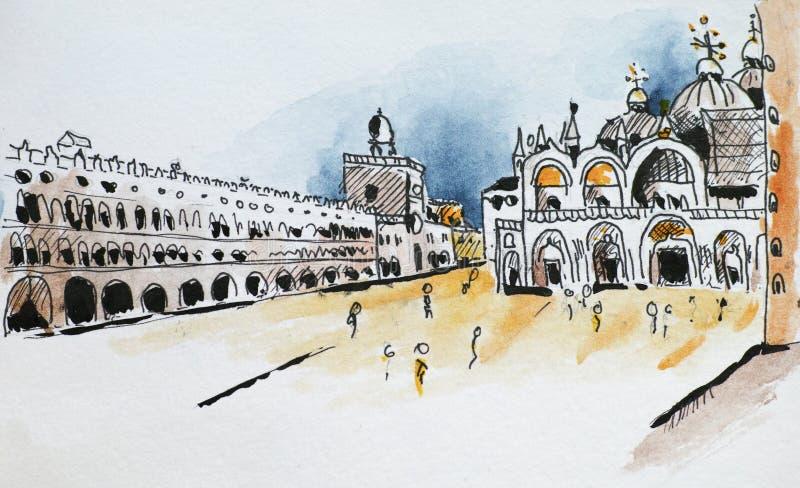 marco san базилики бесплатная иллюстрация