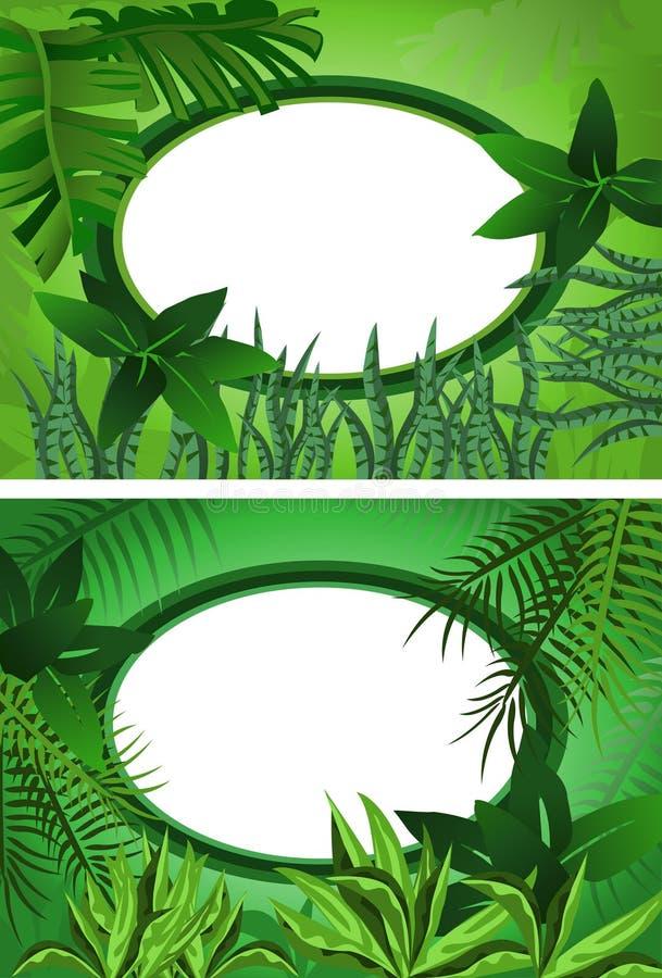 Marco tropical libre illustration