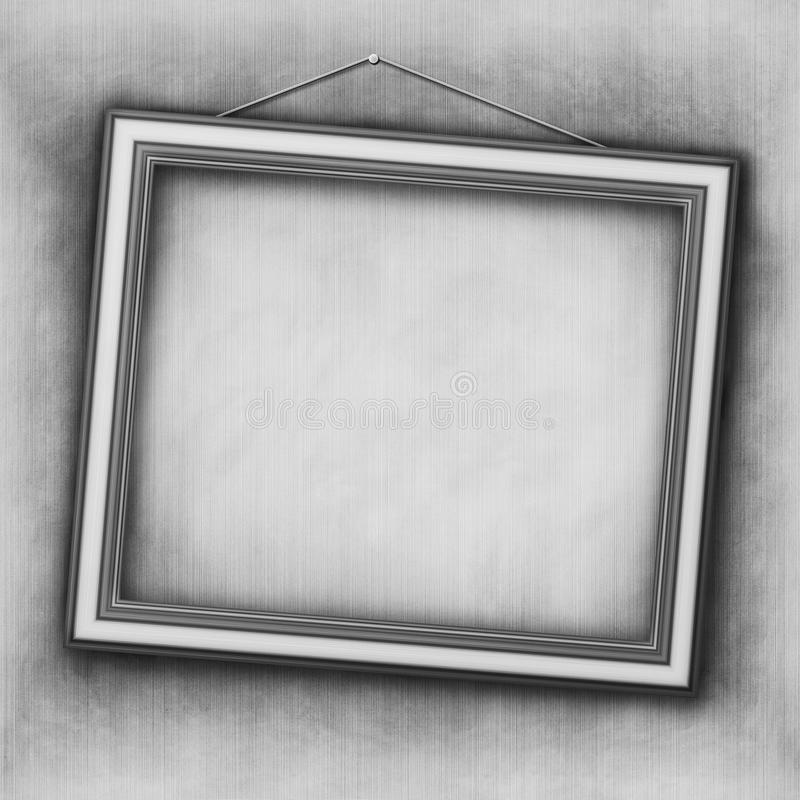 Marco vacío stock de ilustración