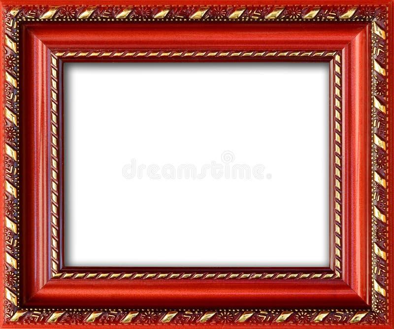 Marco vacío con un lugar libre dentro, aislado en blanco imágenes de archivo libres de regalías