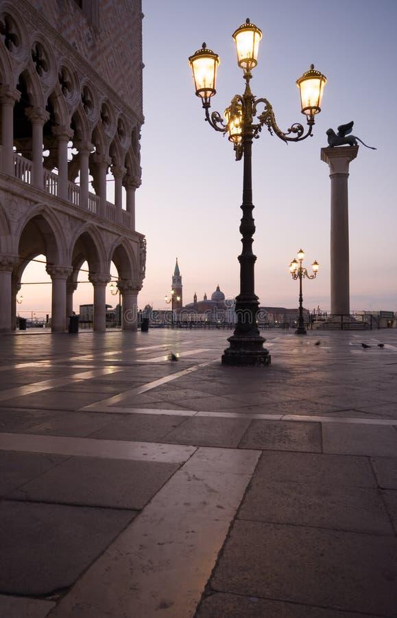 Marco Venecia de san de la plaza fotografía de archivo libre de regalías