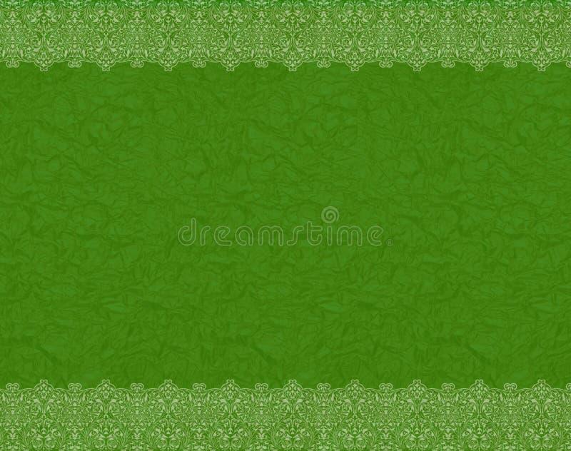 Marco verde stock de ilustración