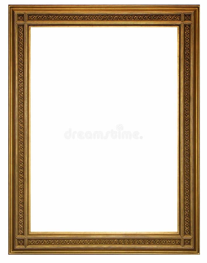 Marco y fondo blanco imagen de archivo libre de regalías