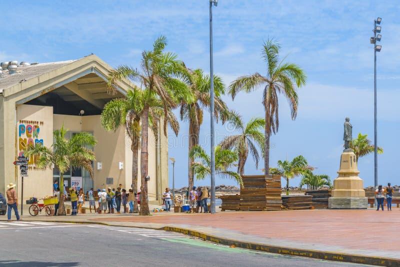 Marco Zero Square Recife Brazil image stock
