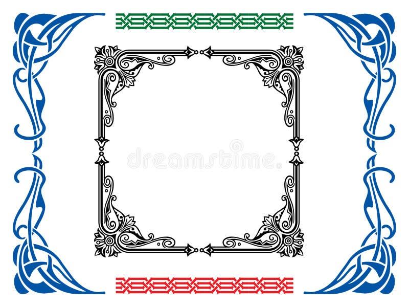 marcos stock de ilustración
