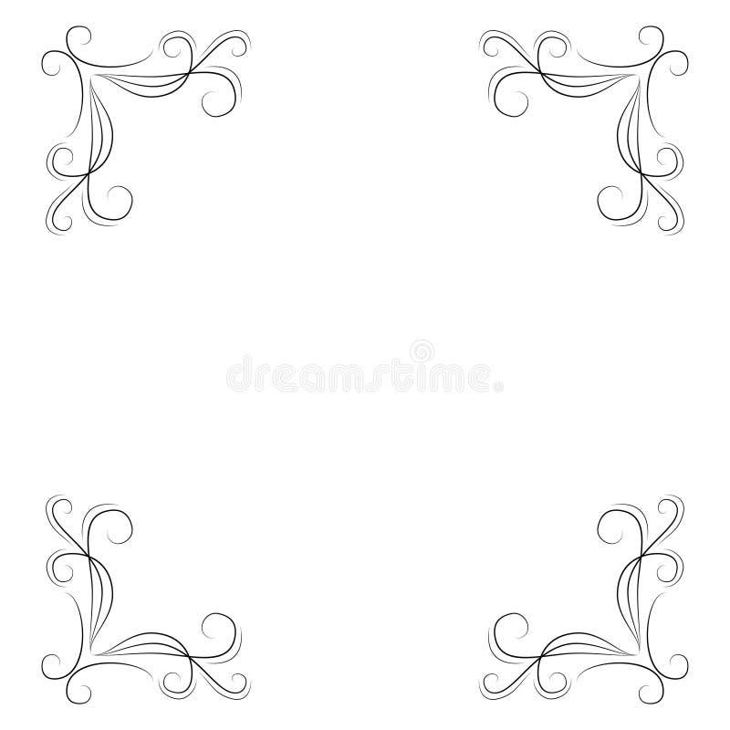 Ornamentos Decorativos. Conjunto De Vectores De Ornamentos ...