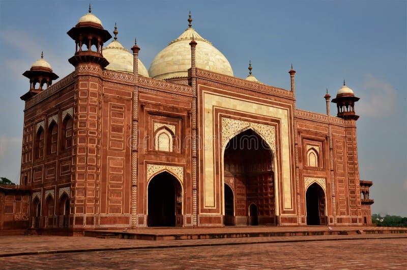 Marcos da Índia - Taj Mahal imagem de stock