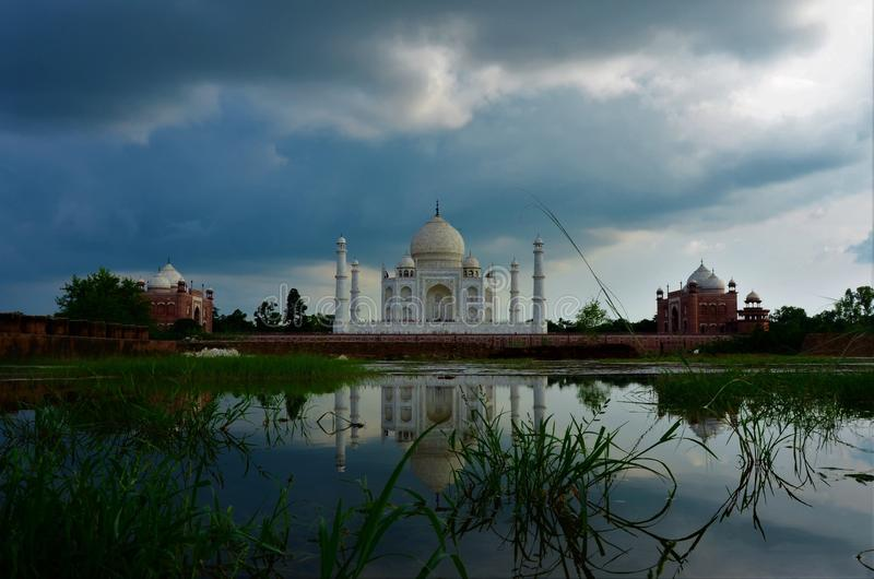 Marcos da Índia - Taj Mahal imagem de stock royalty free