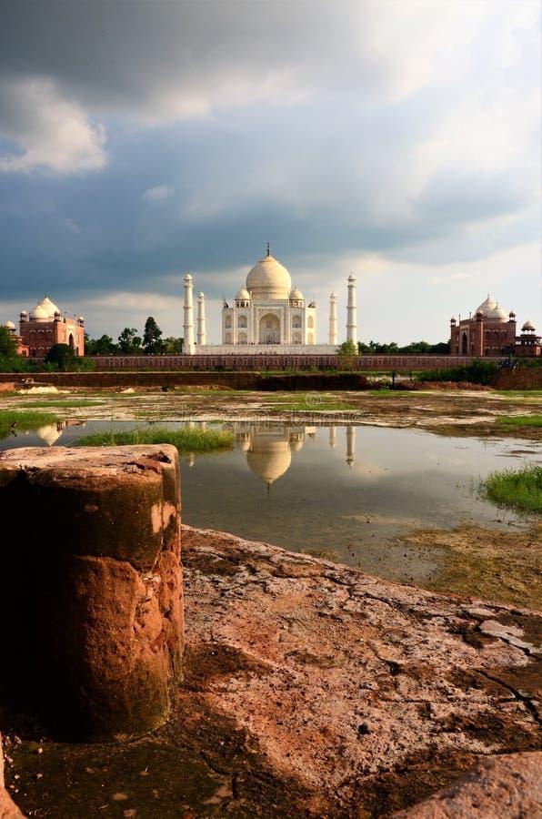 Marcos da Índia - Taj Mahal imagens de stock royalty free