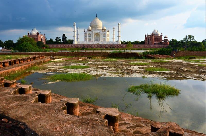 Marcos da Índia - Taj Mahal imagens de stock