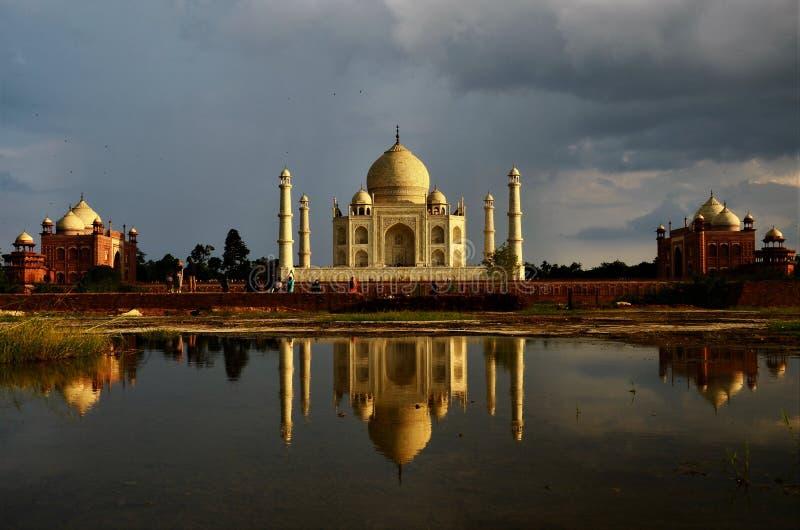 Marcos da Índia - Taj Mahal foto de stock royalty free