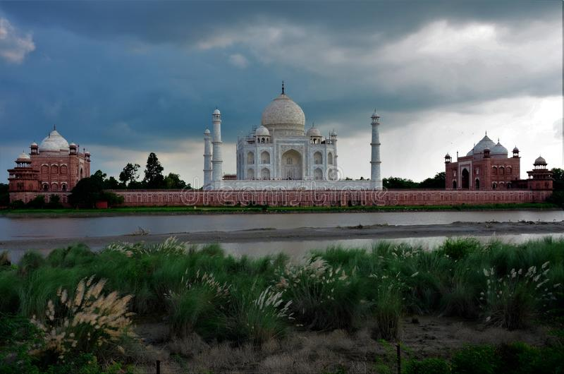 Marcos da Índia - Taj Mahal fotografia de stock royalty free