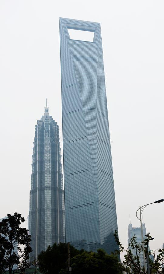 Marcos da cidade de shanghai fotos de stock royalty free