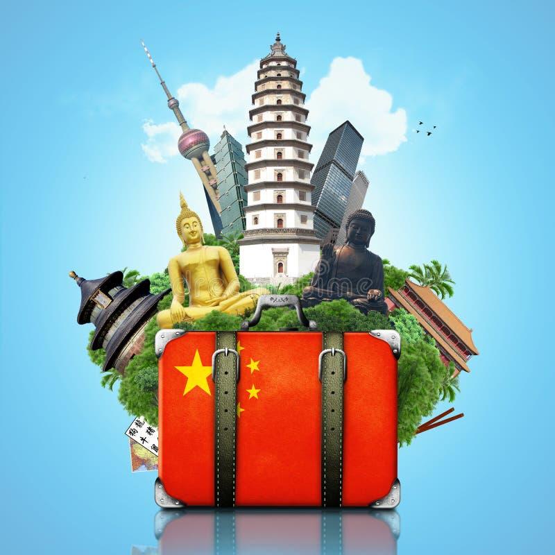 Marcos de China, China imagens de stock royalty free